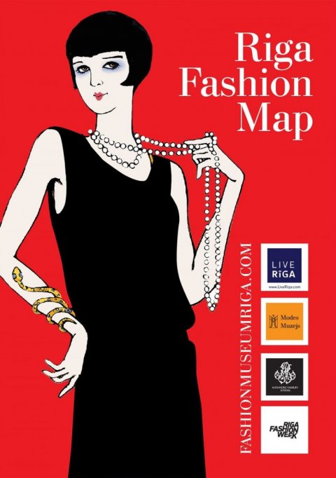 Riga Fashion map