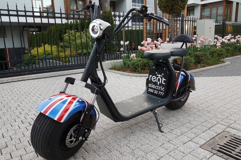 """RentElectric"" electric scooter"