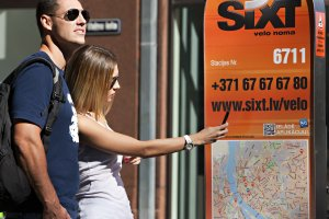 Sixt rent a bicycle in Riga