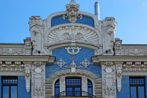 Art Nouveau at 10b Elizabetes Street