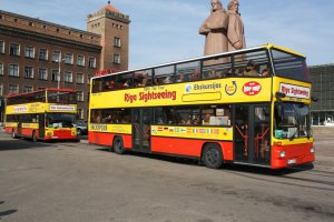 """Riga Sightseeing"" Double-Decker Bus Tour"