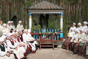 May open-air religious service