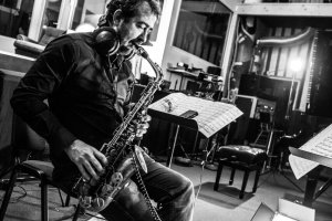 Saxophonia. Pierre Bertrandt (France) and Latvian Radio Big Band