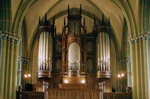 Organ music concerts at Riga's Old St Gertrude's Church