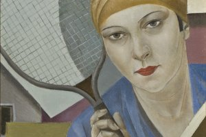 Story of a painting. Aleksandra Beļcova's painting - Tennis Player (1927).
