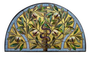 Photo exhibition Colorful Sunlight. Miksa Roth's (Hungary) stained-glass windows and mosaics.