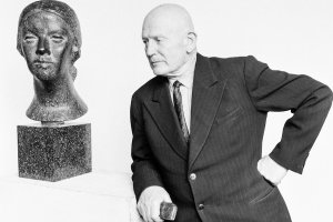 Exhibition dedicated to 130th anniversary of sculptor Emīls Melderis