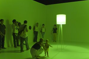 "Contemporary media art exhibition ""Green/Unmasked"""