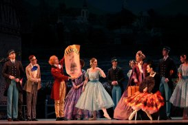 "Ballet ""At the Blue Danube"""