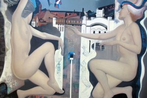Exhibition from Jurmala City Museum's art collection - Interior and Exterior