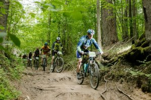 MTB cycling marathon
