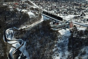 BMW IBSF World Cup 1st stage in skeleton and bobsleigh