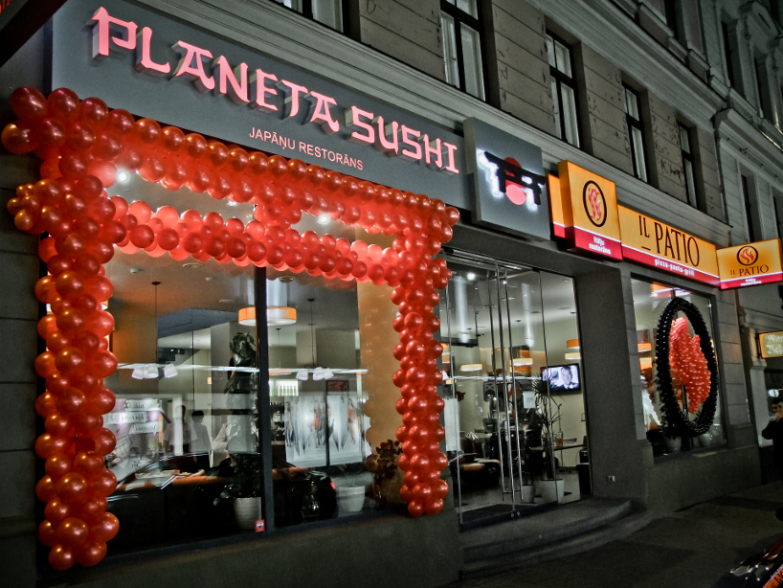 IL Patio U0026 Planeta Sushi Is A Restaurant Where Attempt Has Been Made To  Join Classic Dishes Of The Joyful Italian Cuisine With Even Tempered  Japanese ...